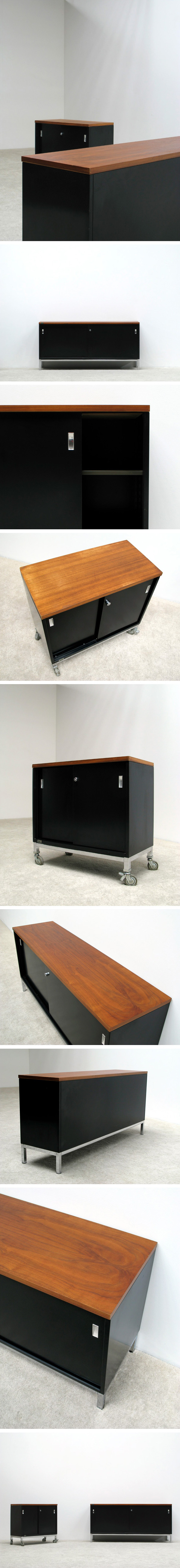 Industrial metal office sideboards Large