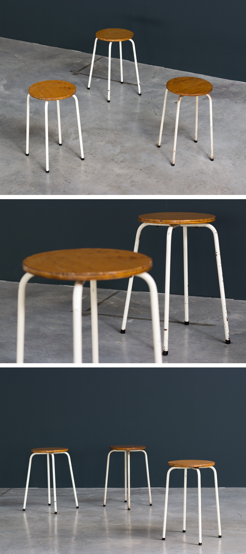 Industrial stools 1950 Large