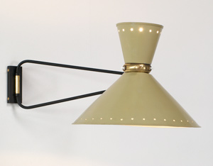 Industrial swing lamp Pierre Guariche