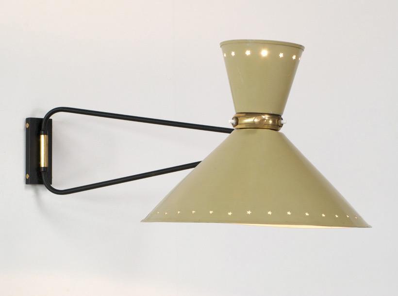 Industrial swing lamp Pierre Guariche
