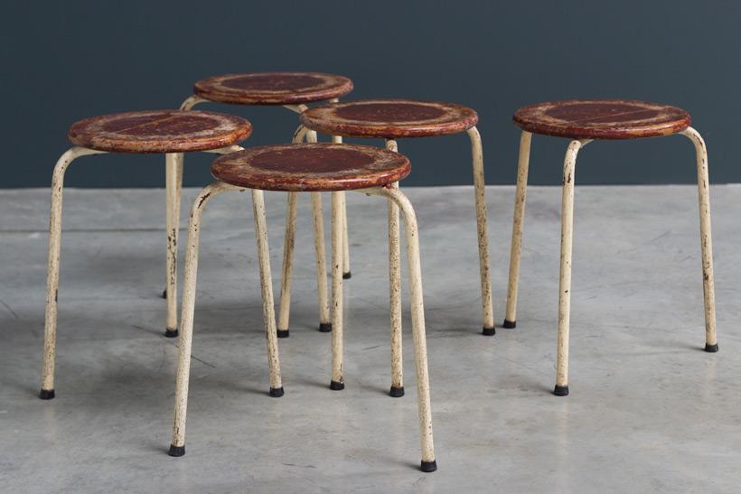 Industrial tree legged stools 1950 img 4