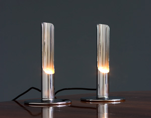 Ingo Maurer Pair table lamps model Prix for M Design