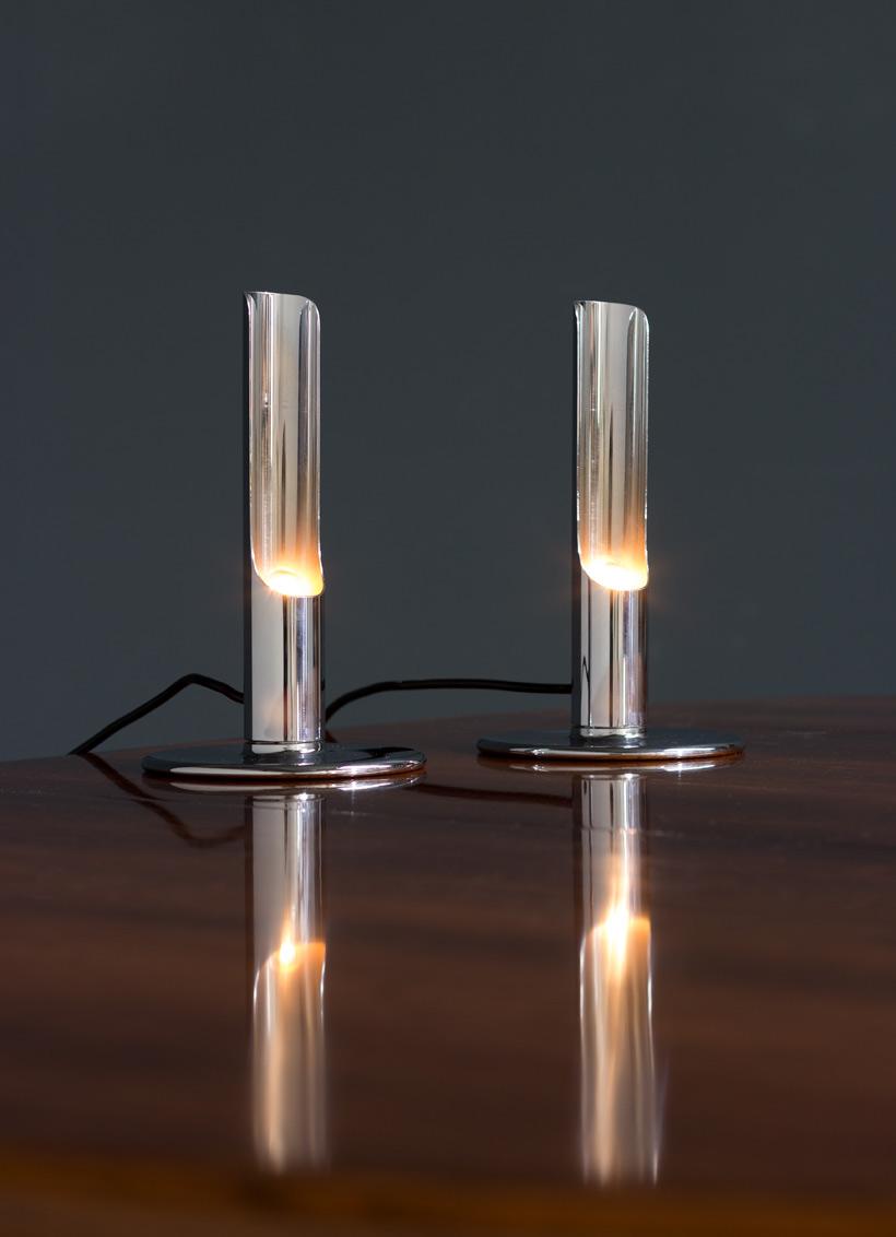 Ingo Maurer Pair table lamps model Prix for M Design