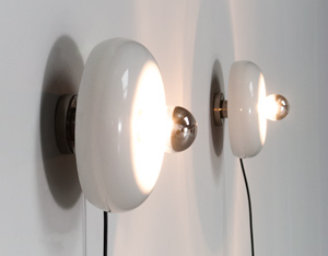 Ingo Maurer Pox pair of sconces or table lamps