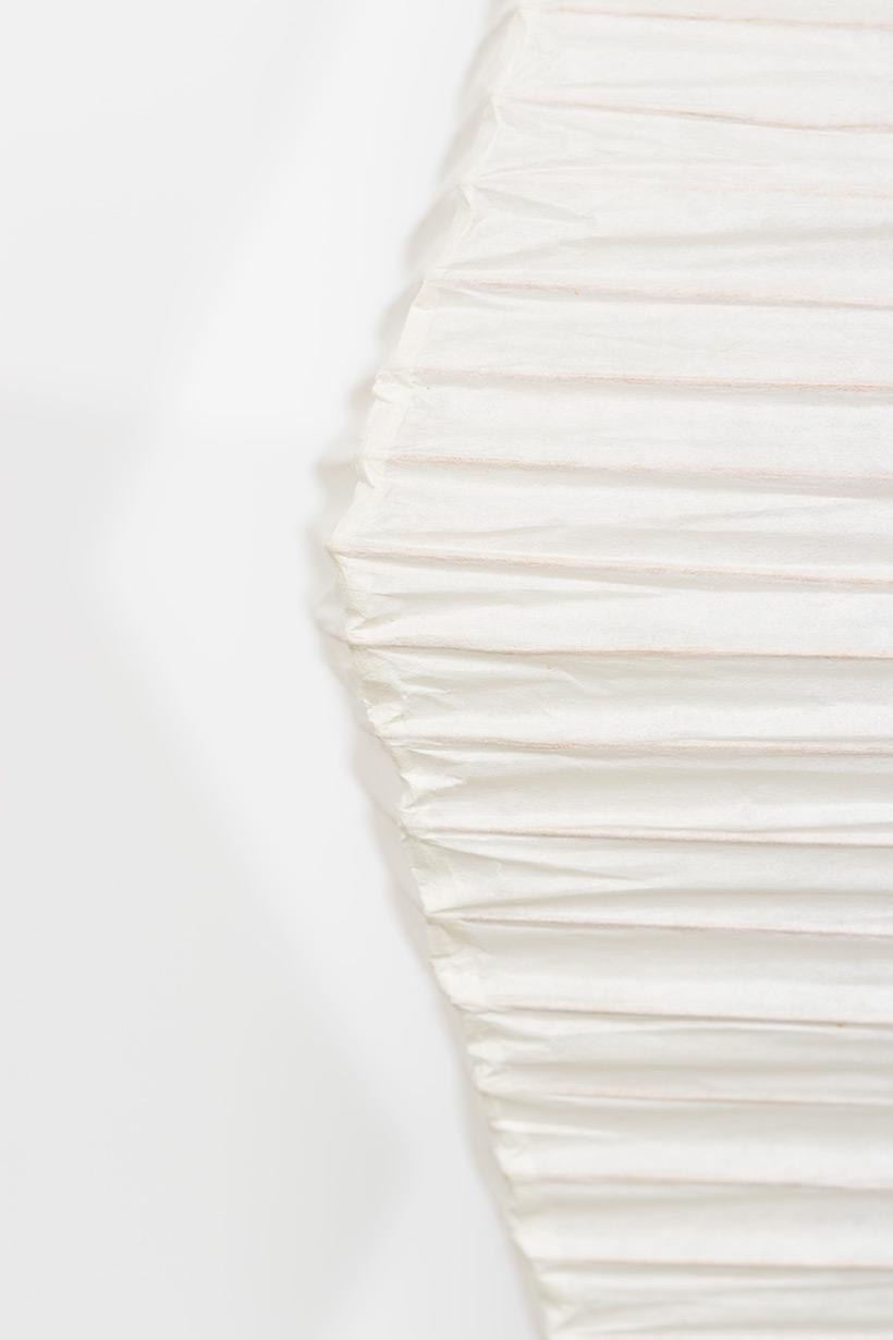Isamu Noguchi Akari light Shoji paper The Endless Column Floor lamp img 4