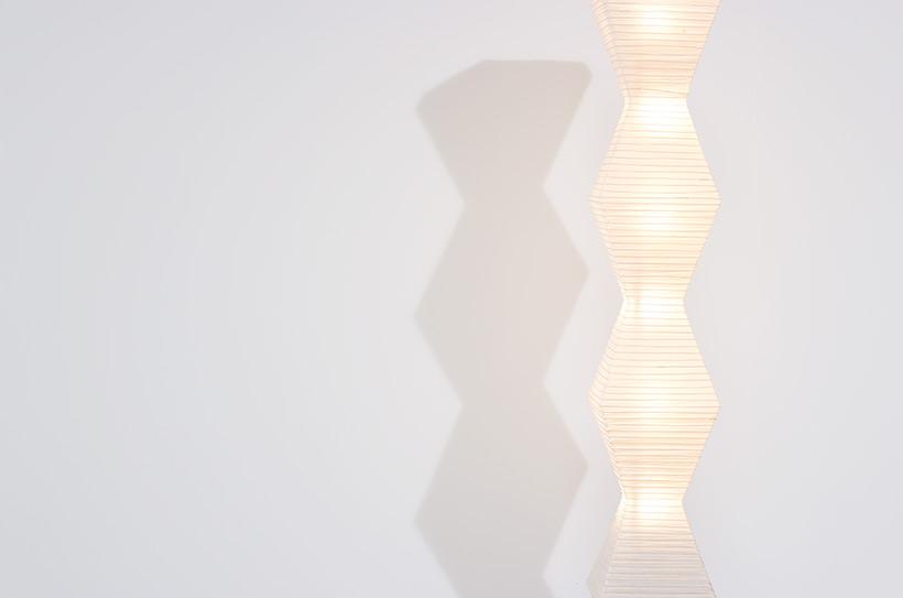 Isamu Noguchi Akari light Shoji paper The Endless Column Floor lamp img 7