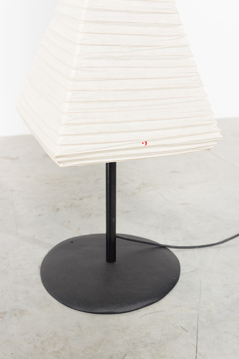 Isamu Noguchi Akari light Shoji paper The Endless Column Floor lamp img 9