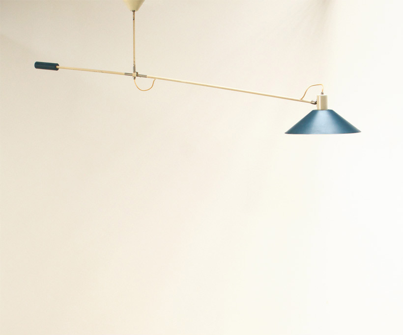 J.J.M. Hoogervorst Counter balance lamp for Anvia