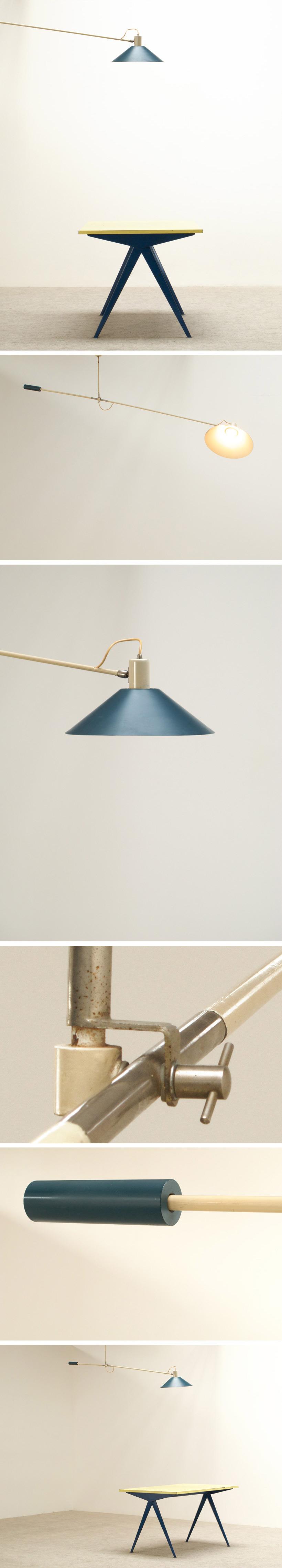 J.J.M. Hoogervorst Counter balance lamp for Anvia Large