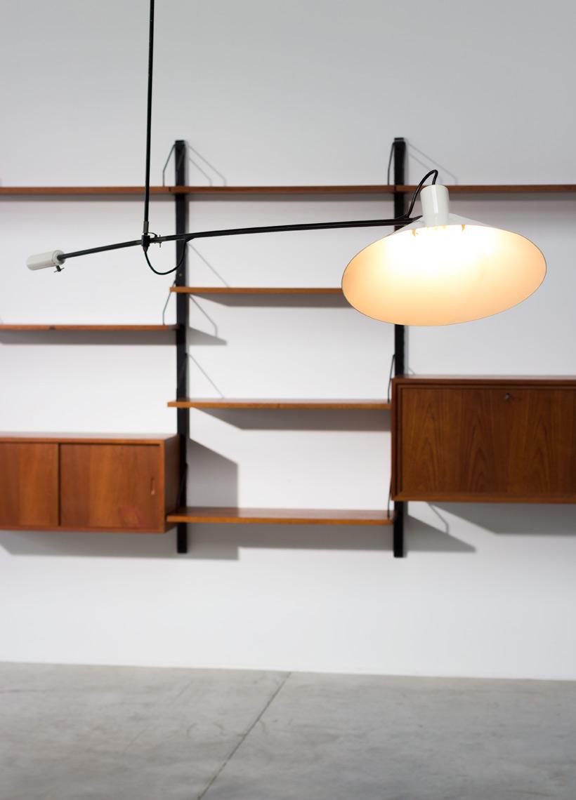 J.J.M. Hoogervorst for Anvia Counter balance lamp