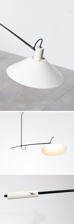 J.J.M. Hoogervorst for Anvia Counter balance lamp Large