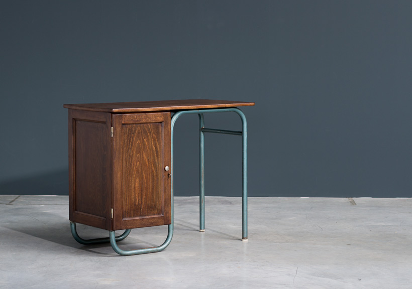 Jacques Hitier industrial modernity lady desk