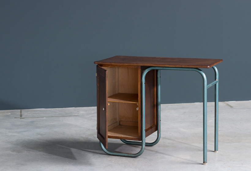 Jacques Hitier industrial modernity lady desk Large