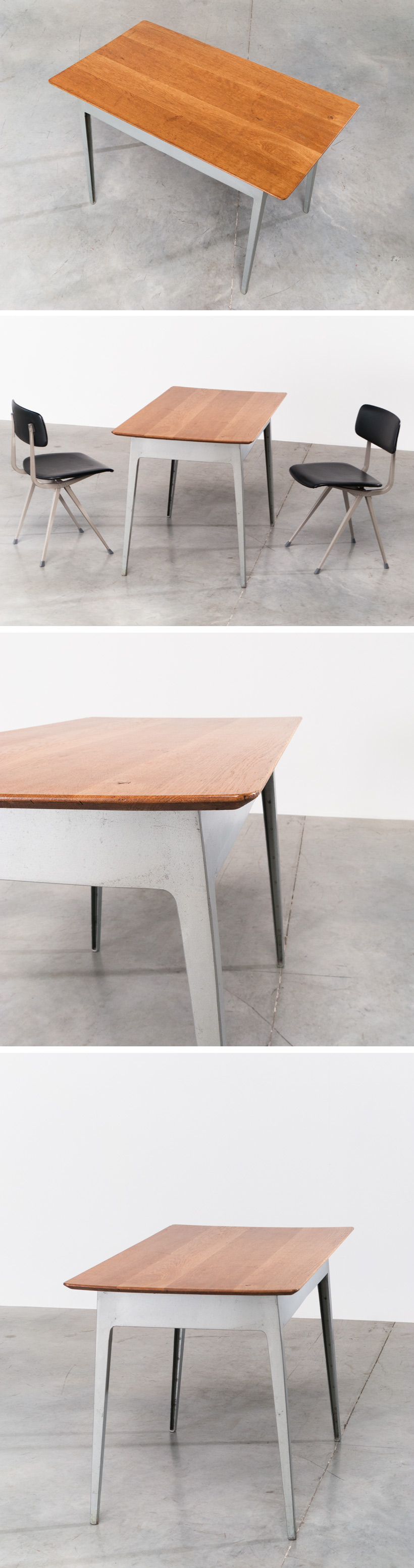 James Leonard industrial table for Esavian Large