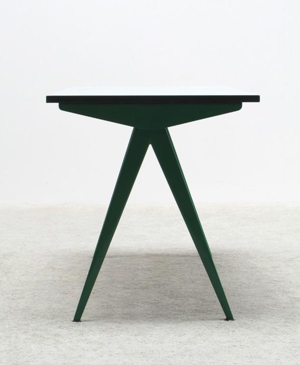 Jean Prouve Cafeteria Compas table