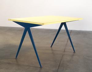 Jean Prouve Compas Cafeteria table Marcoule