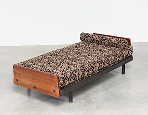 Jean Prouve daybed Cansado Mauritania bed S.C.A.L. circa 1950