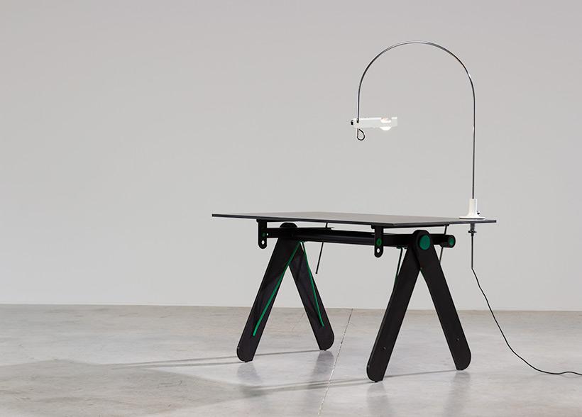 Joe Colombo Desk lamp Spider for Oluce 1960