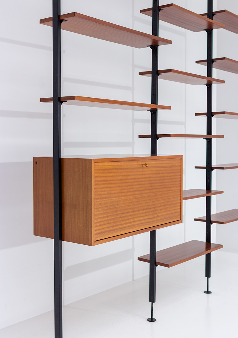 Jos De Mey Modernist Wall Unit with desk for Van den Berghe-Pauvers img 5