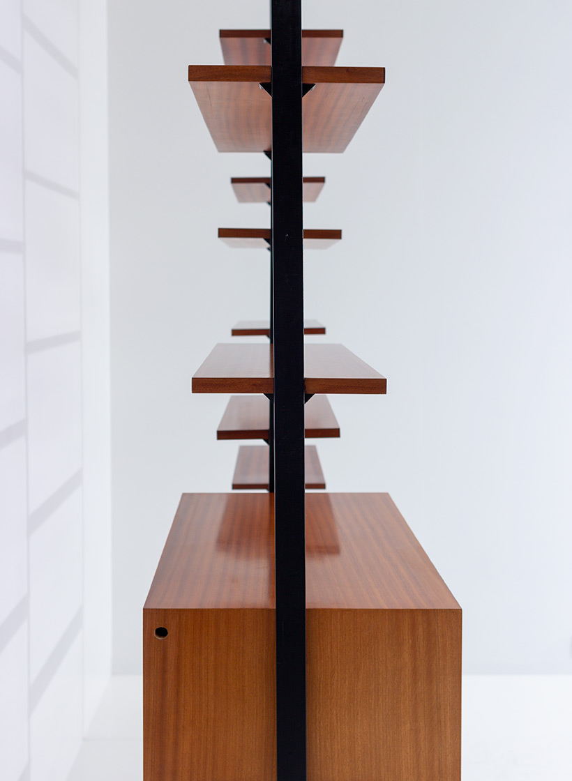 Jos De Mey Modernist Wall Unit with desk for Van den Berghe-Pauvers img 6