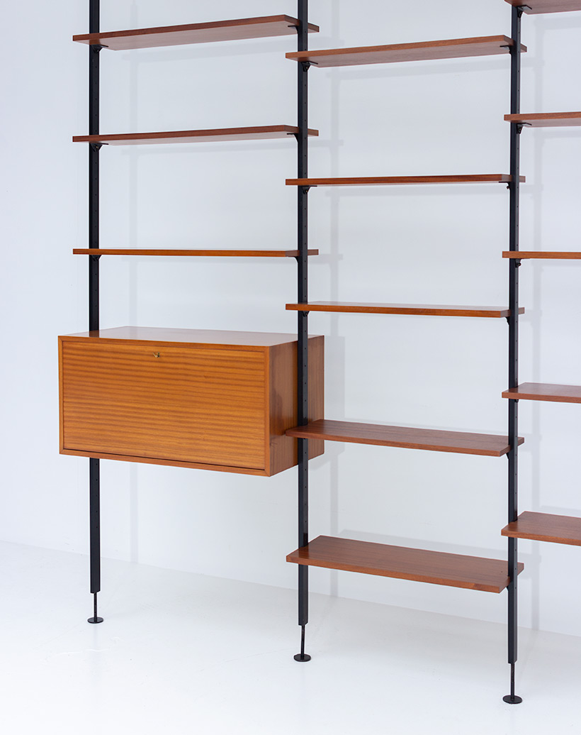Jos De Mey Modernist Wall Unit with desk for Van den Berghe-Pauvers img 7