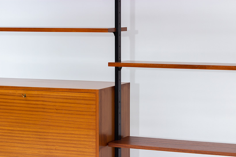 Jos De Mey Modernist Wall Unit with desk for Van den Berghe-Pauvers img 9
