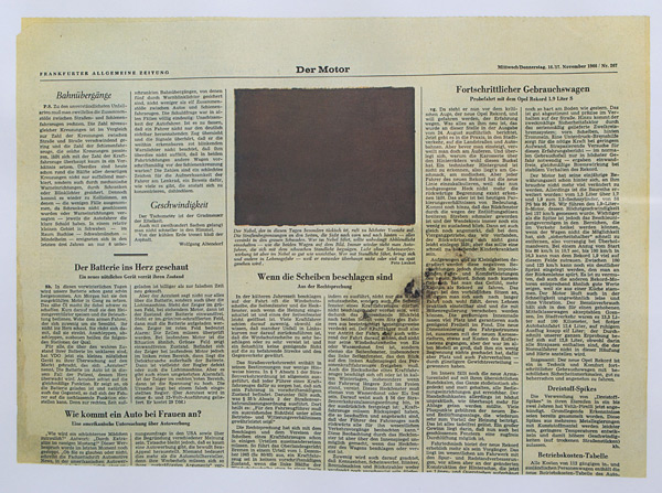 Joseph Beuys Der Motor Color offset lithograph img 4