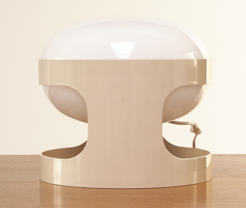 KD27 Joe Colombo Kartell White table lamp