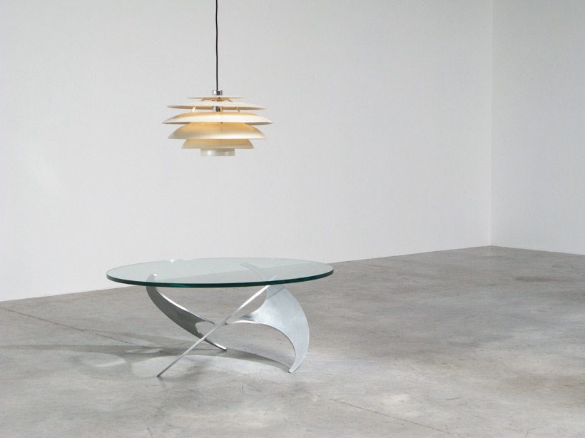 Knut Hesterberg propeller coffee table Ronald Schmitt