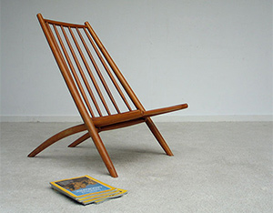 Kongo or easy Chair Ilmari Tapiovaara