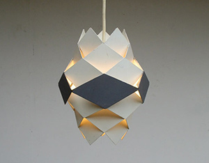 Lamp by Preben Dahl model Symfony by HF Belysning