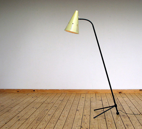 Large Pinocchio lamp 1953 Hala H.Th.J.A. Busquet
