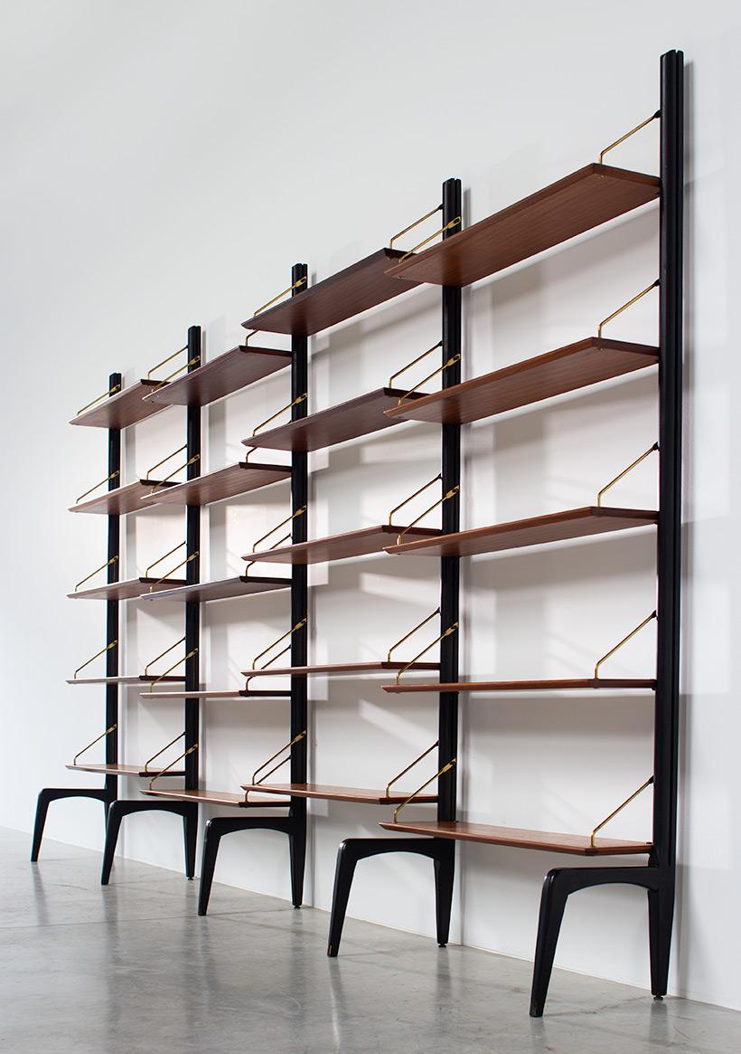 Louis van Teeffelen modern modular wall unit 1960