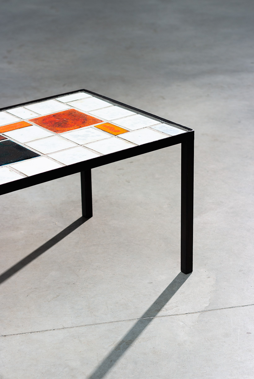 Louise Servaes Ceramic coffee table circa 1965 Member of the G 58 group