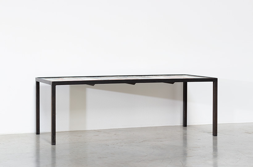 Louise Servaes Ceramic coffee table circa 1965 Member of the G 58 group img 4