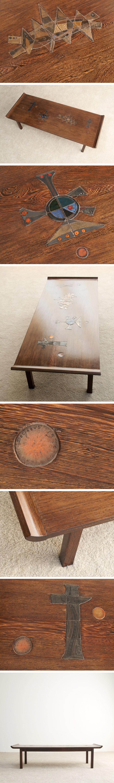 Lucien De Gheus coffee table Large