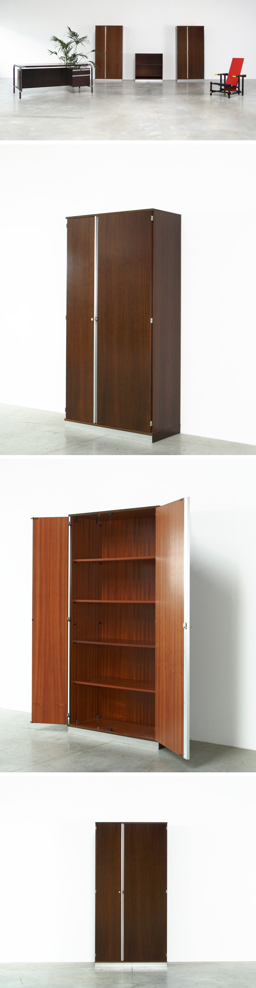Luisa and Ico Parisi for MIM office cupboard Large