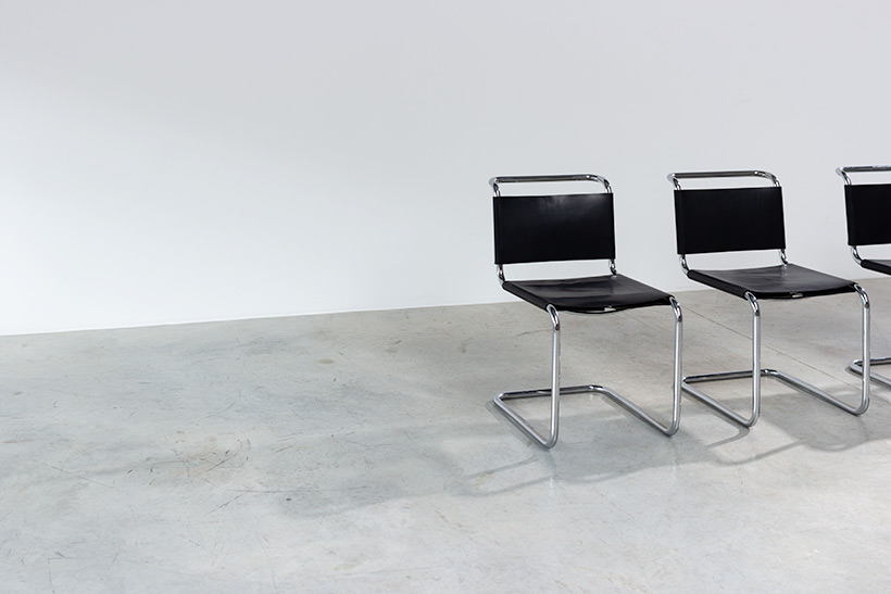 Marcel Breuer B33 Gavina set of four Bauhaus chairs img 4