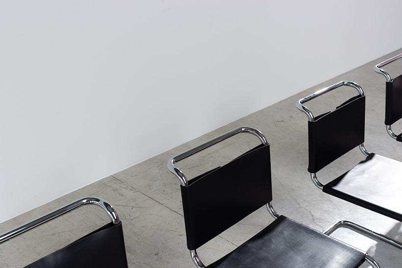 Marcel Breuer B33 Gavina set of four Bauhaus chairs img 5