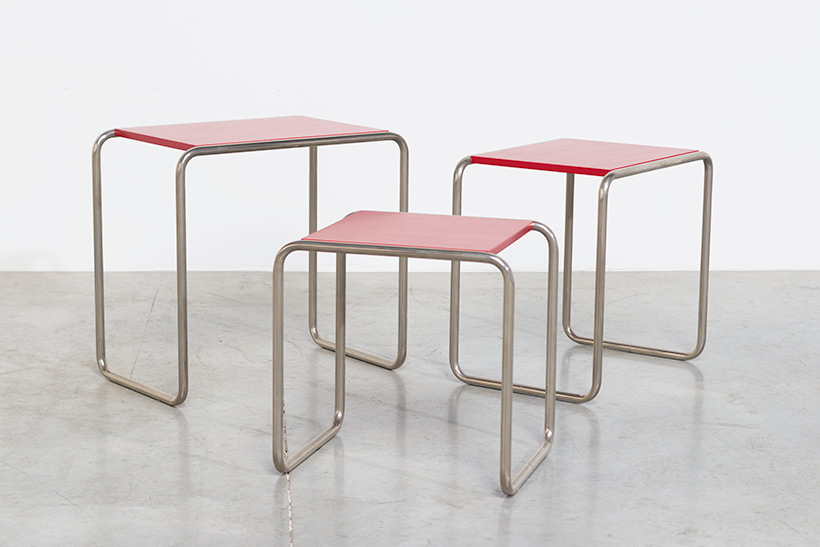Marcel Breuer B9 Bauhaus nesting tables German Modernism img 7