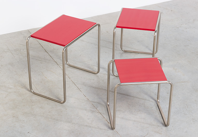 Marcel Breuer B9 Bauhaus nesting tables German Modernism img 8