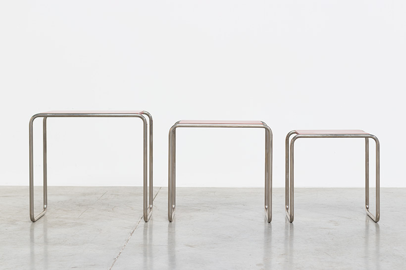 Marcel Breuer B9 Bauhaus nesting tables German Modernism img 9