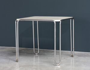 Marcel Breuer table model B10 Thonet Bauhaus