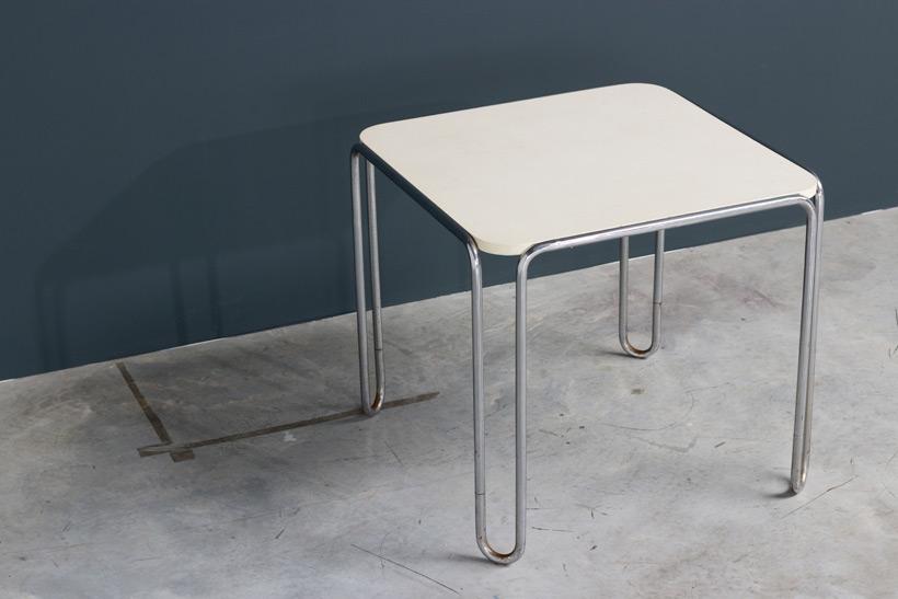 Marcel Breuer table model B10 Thonet Bauhaus img 4