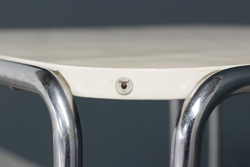Marcel Breuer table model B10 Thonet Bauhaus img 5