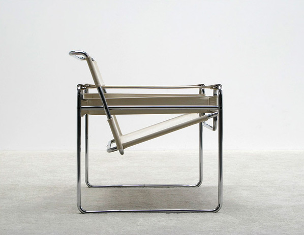 Marcel Breuer Wassily or B3 club chair Gavina