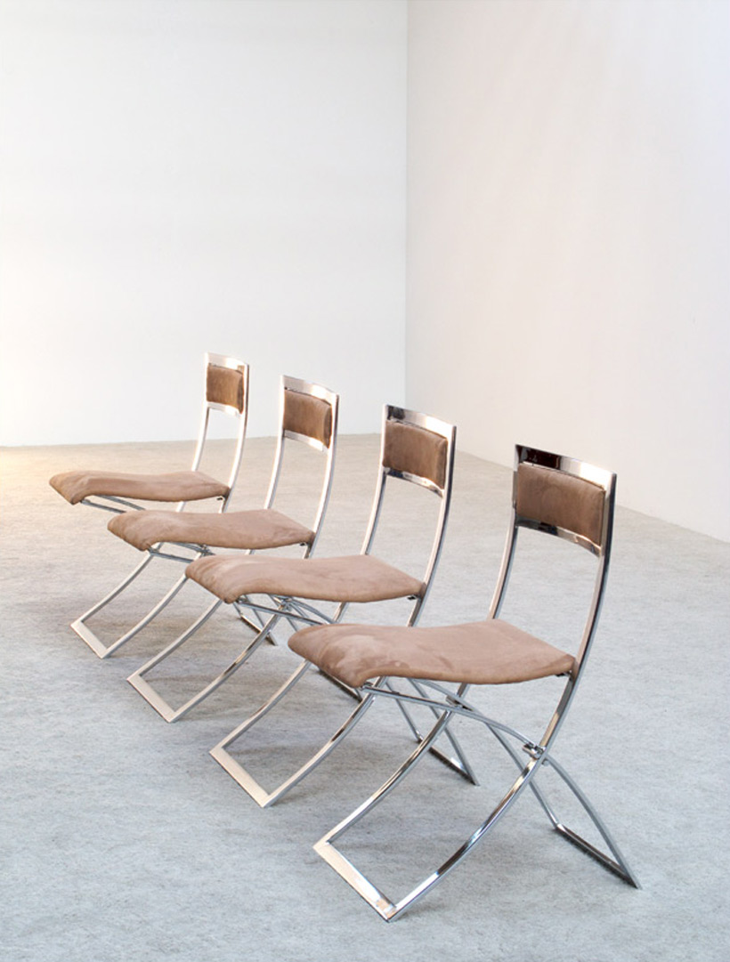 Marcello Cuneo 4 Luisa folding chairs