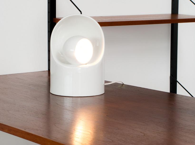 Marcello Cuneo Ceramic lamp for Gabianelli