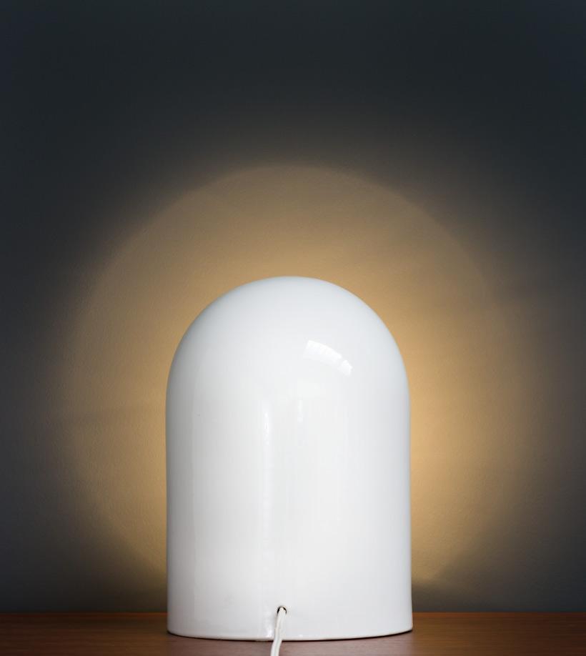 Marcello Cuneo for Gabbianelli Ceramic lamp