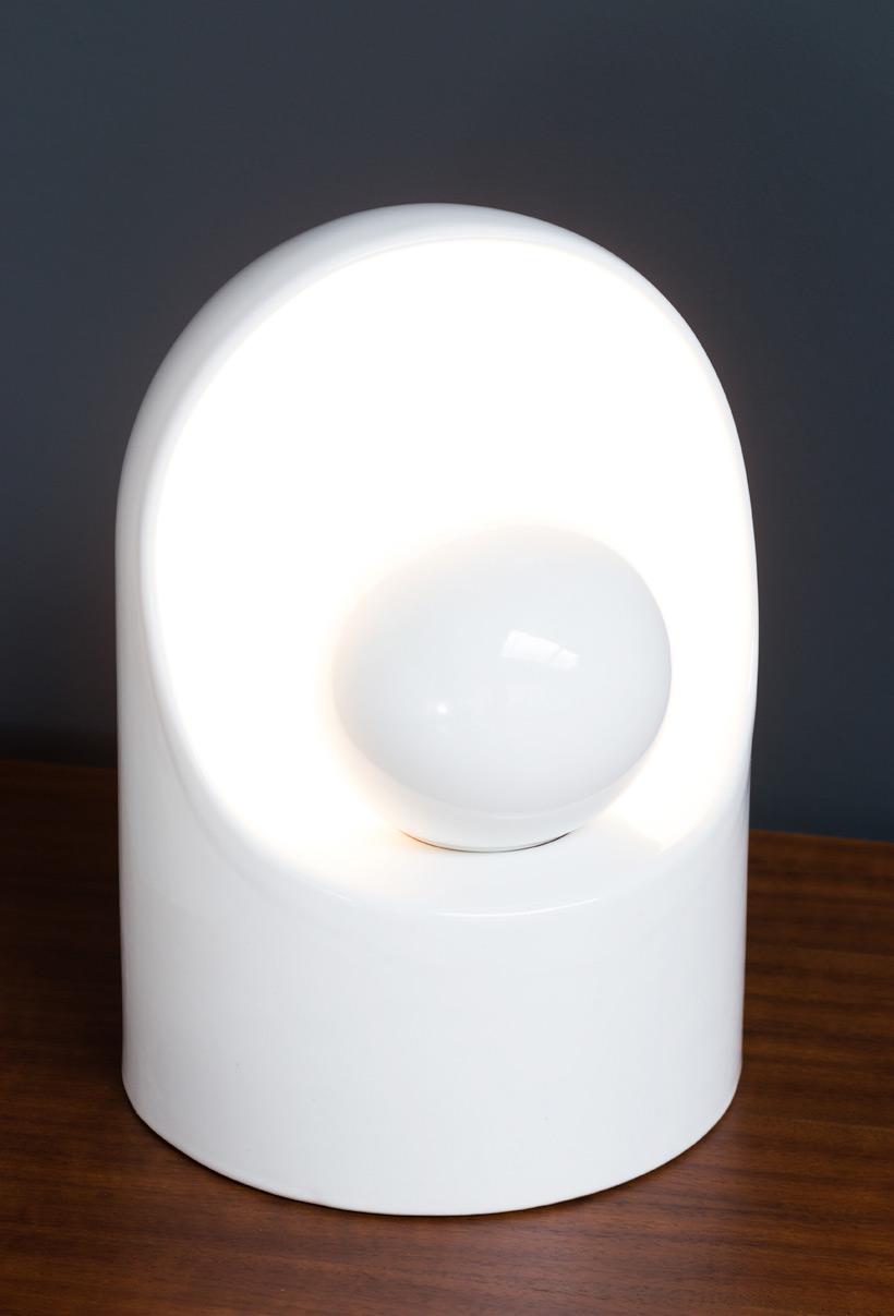 Marcello Cuneo for Gabbianelli Ceramic lamp img 3